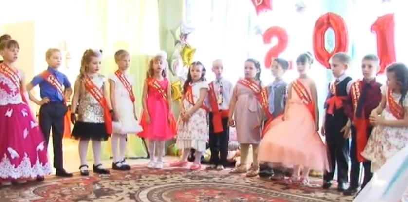 Во всех детских садах района прошли выпускные