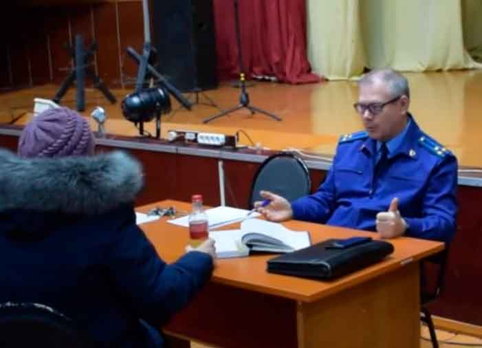 Личный прием граждан прокурором Смидовичского района