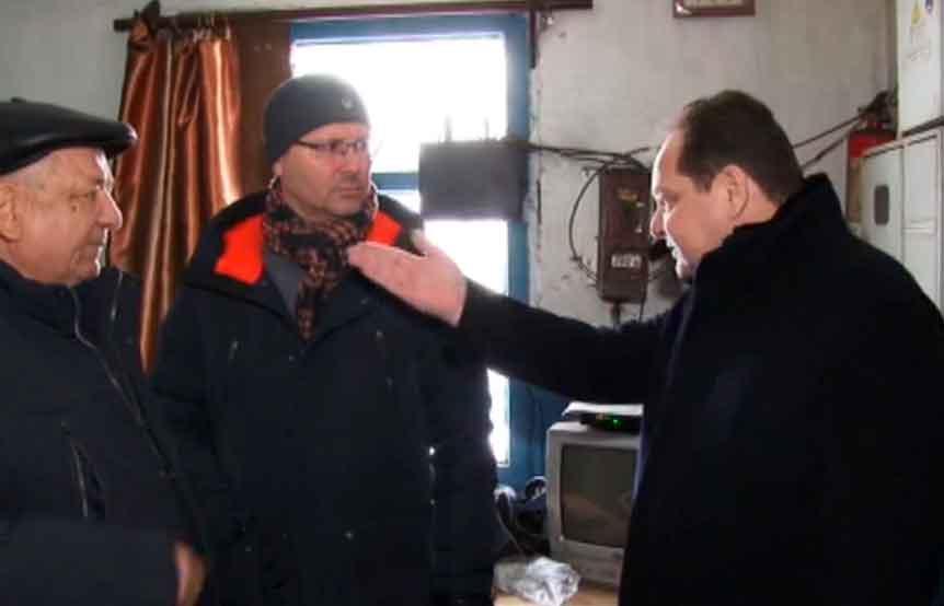 Врио губернатора ЕАО Ростислав Гольдштейн с очередным рабочим визитов на объектах ЖКХ в Смидовичском районе