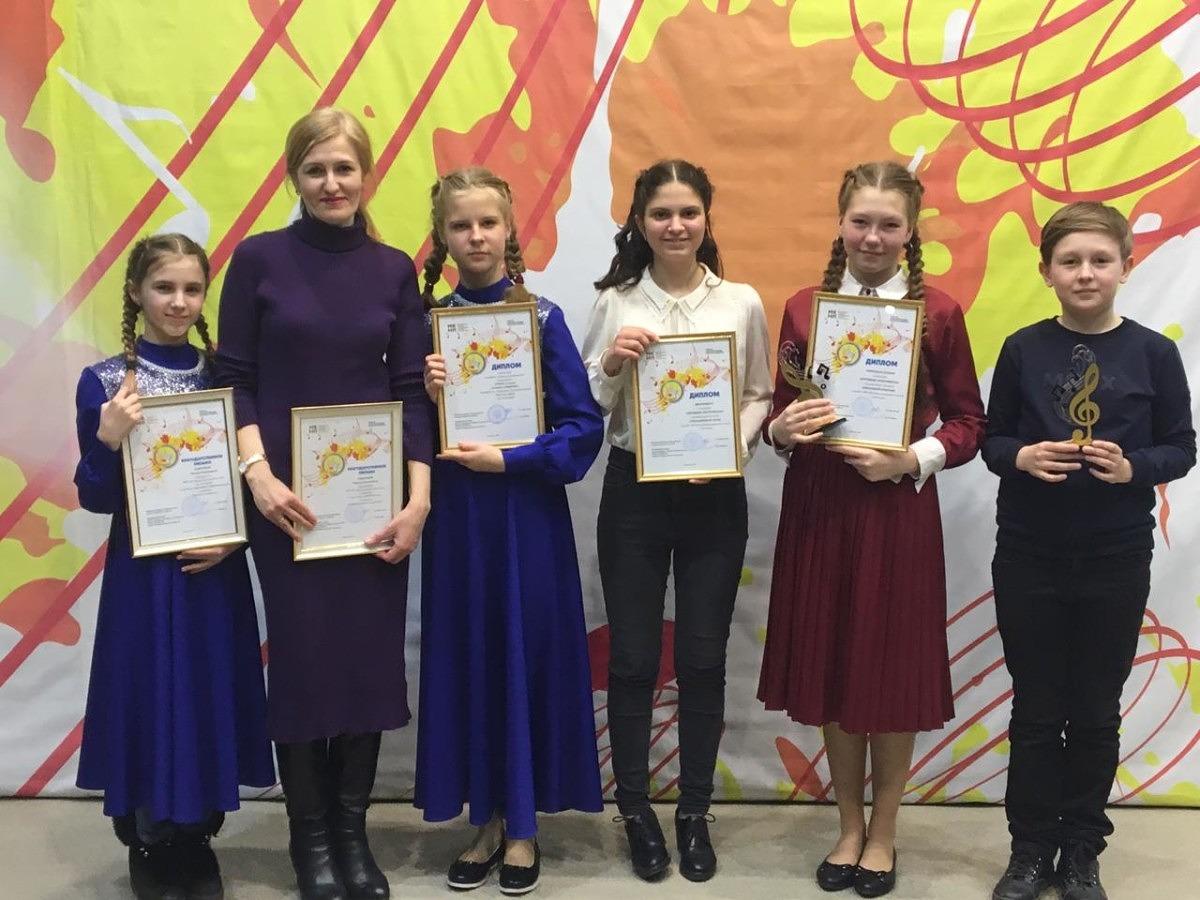 Призёры международного конкурса