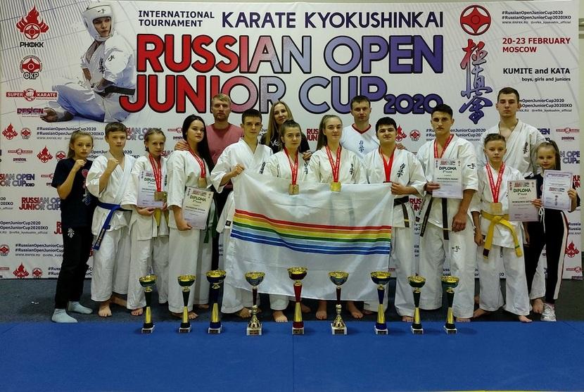 С 20 по 24 февраля в Москве состоялся Международный турнир «Russian Open Junior Cup» по киокусинкай каратэ среди юношей и девушек, юниоров и юниорок