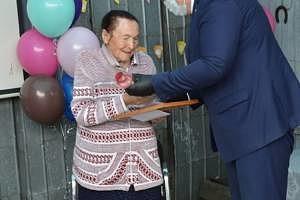 100-летний юбилей отметила участница Великой Отечественной войны из села Волочаевки Полина Тихоновна Меркульева