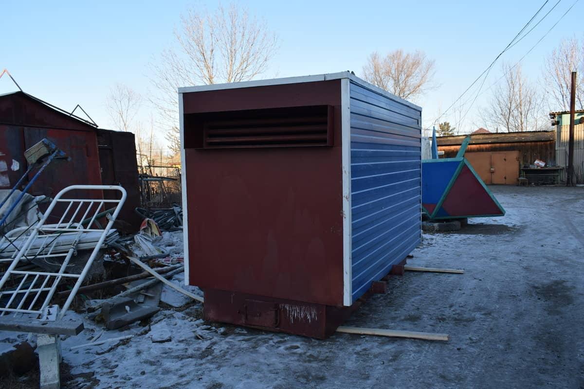 В котельной №8 посёлка Смидович ведутся работы по установке нового котла